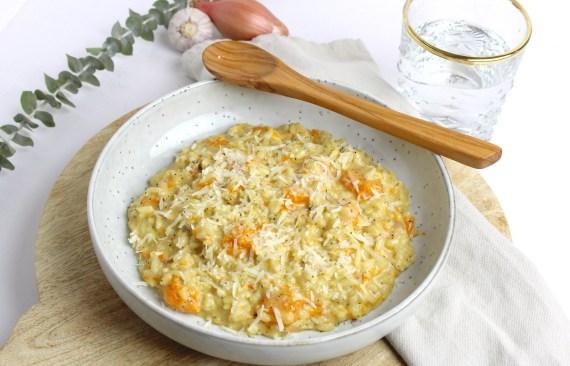 Pompoen risotto