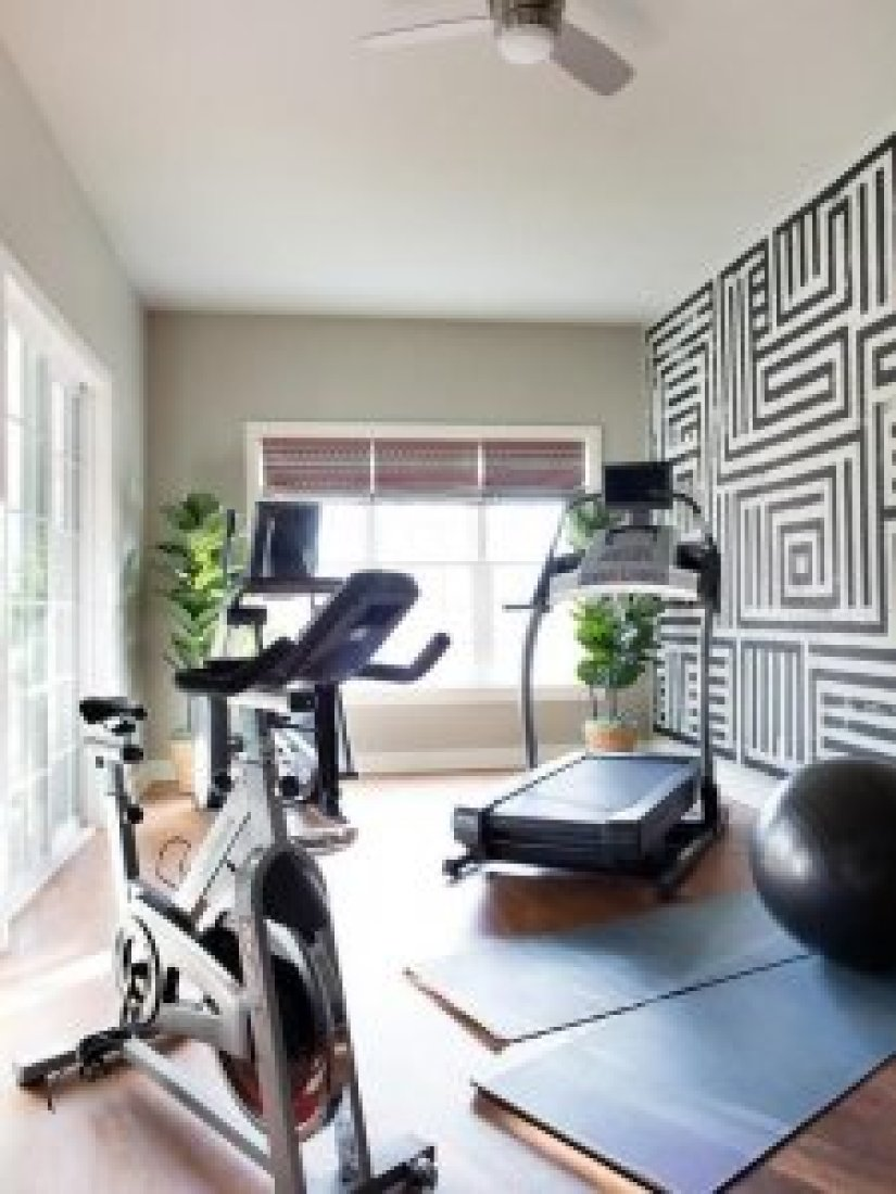 home gym ideas shed