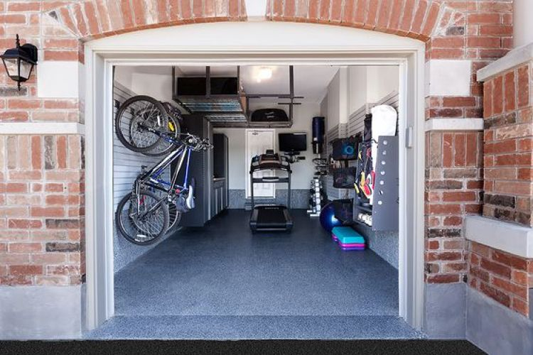 GARAGE GYM IDEAS