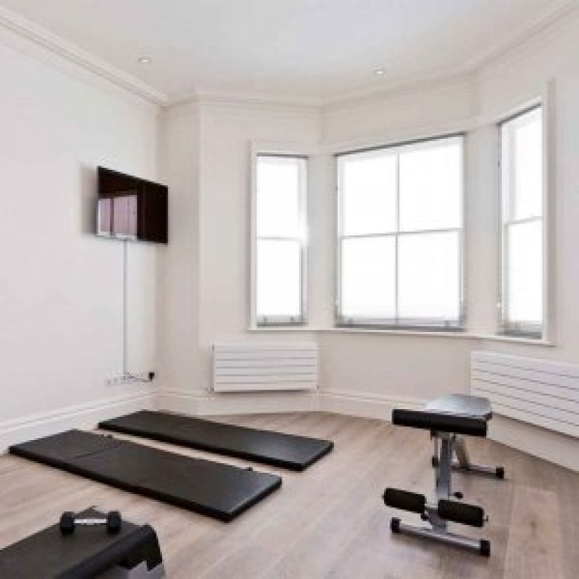 bedroom gym ideas