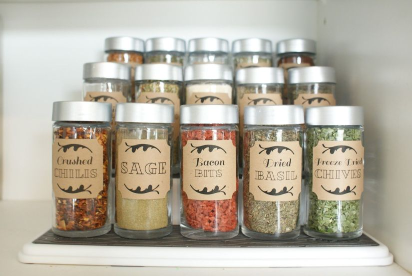 Spice Rack Ideas for Small Spaces