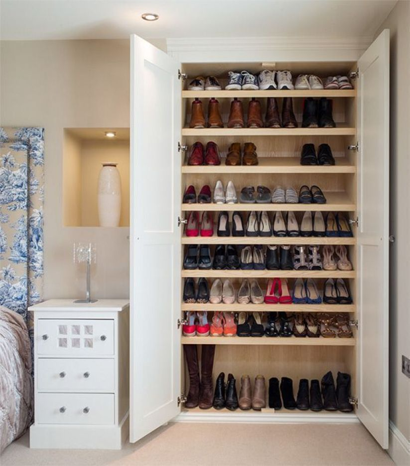 Shoe Rack Concepts for Bedroom