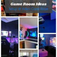 25 Ideal Game Room Ideas (A Guide for Gamers)