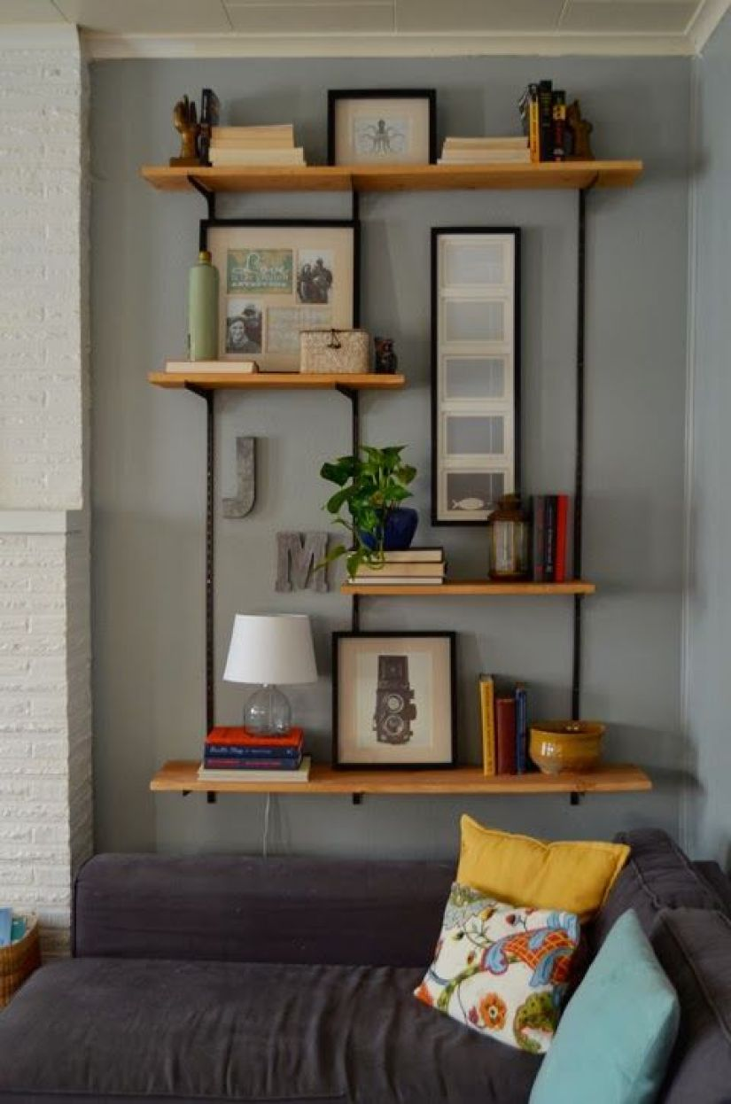 Living Room Shelf Ideas: 30+ Exclusive Wall Shelf Ideas In 2020