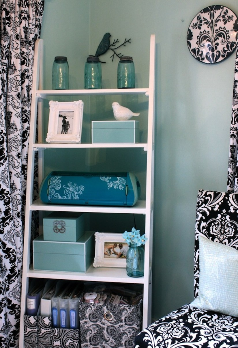 Ladder Shelf decor ideas