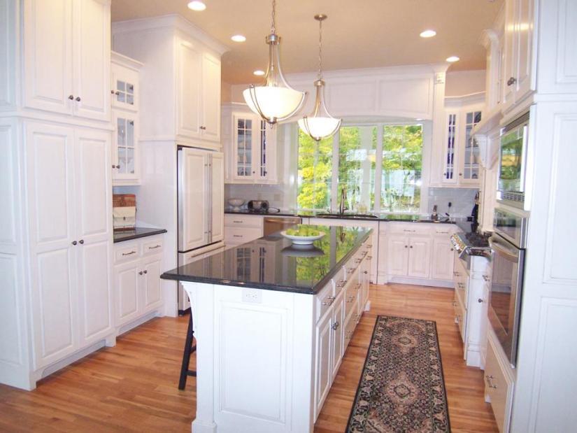 kitchen layout ideas uk