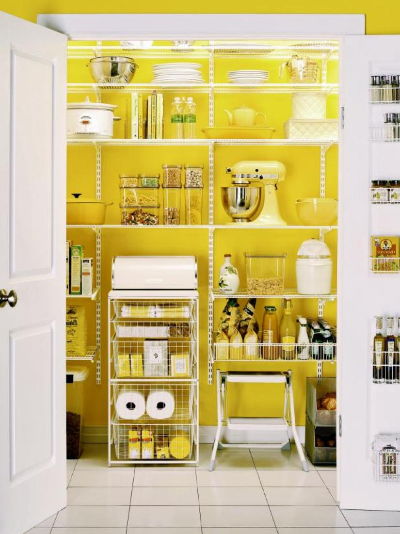 built in pantry cabinet ideas