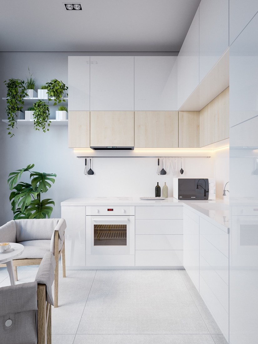l shaped kitchen designs with breakfast bar