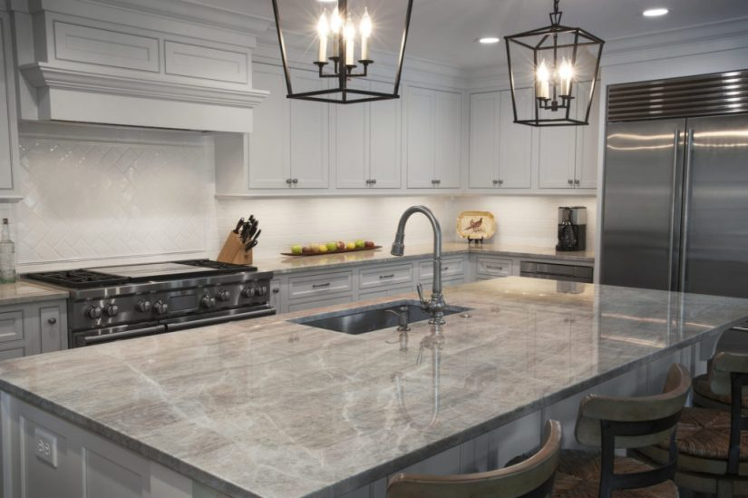 kitchen countertops options quartz