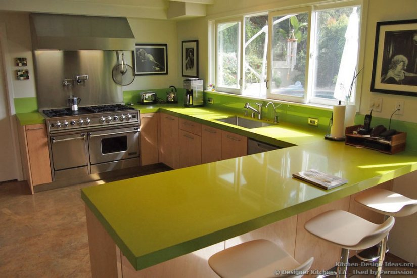 31 Remarkable Kitchen Countertops Options 2019 on Modern:egvna1Wjfco= Kitchen Counter Decor  id=60903