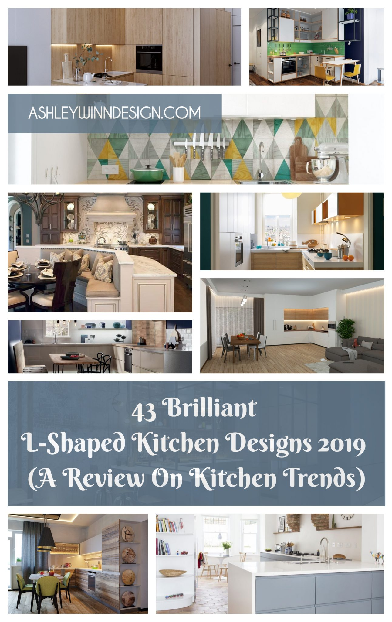 43 Brilliant L-Shaped Kitchen Designs 2020 [A Review On