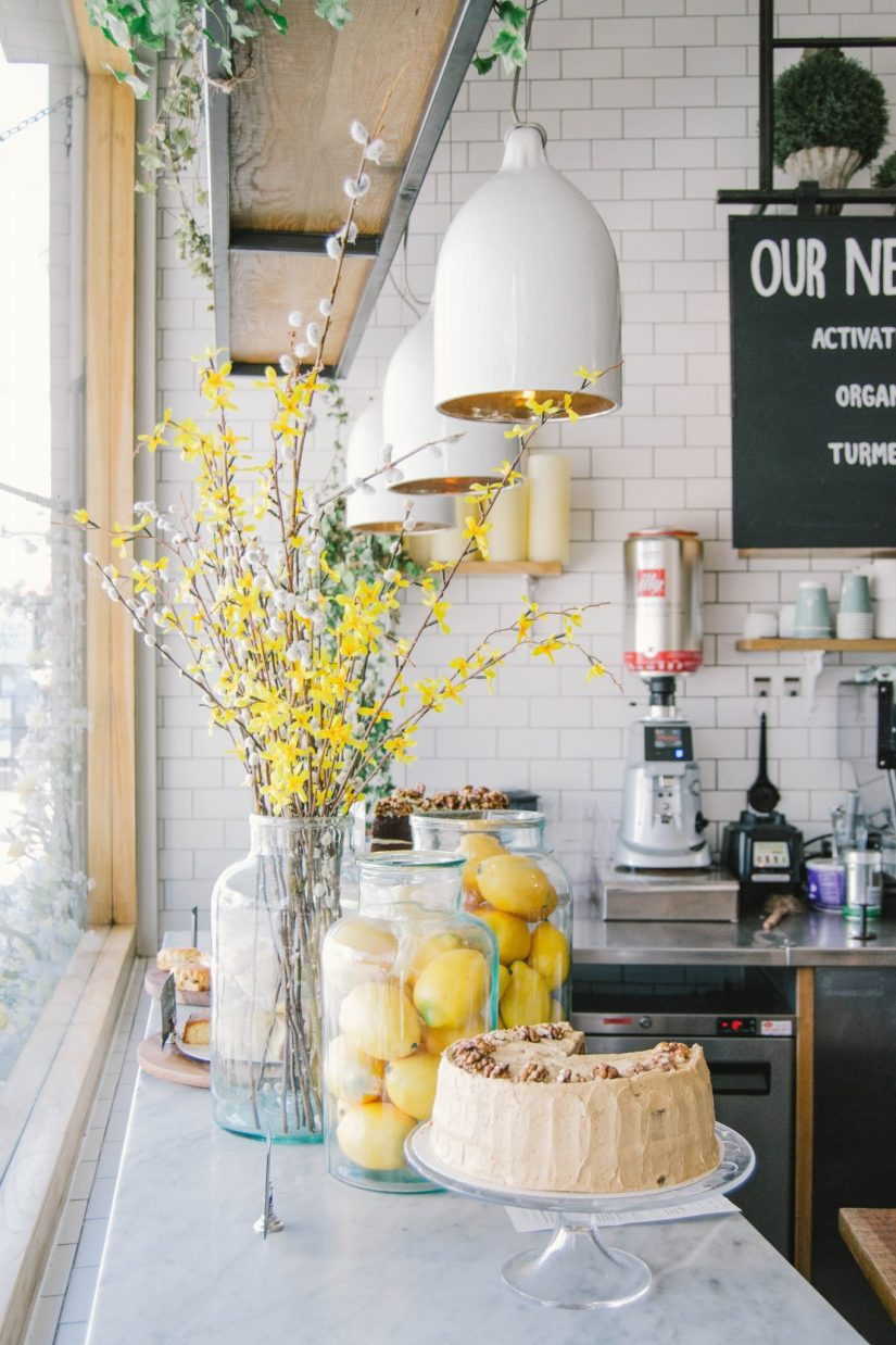 23 Impressive Kitchen Counter Decor [Ideas for Styling ... on Modern:egvna1Wjfco= Kitchen Counter Decor  id=14816
