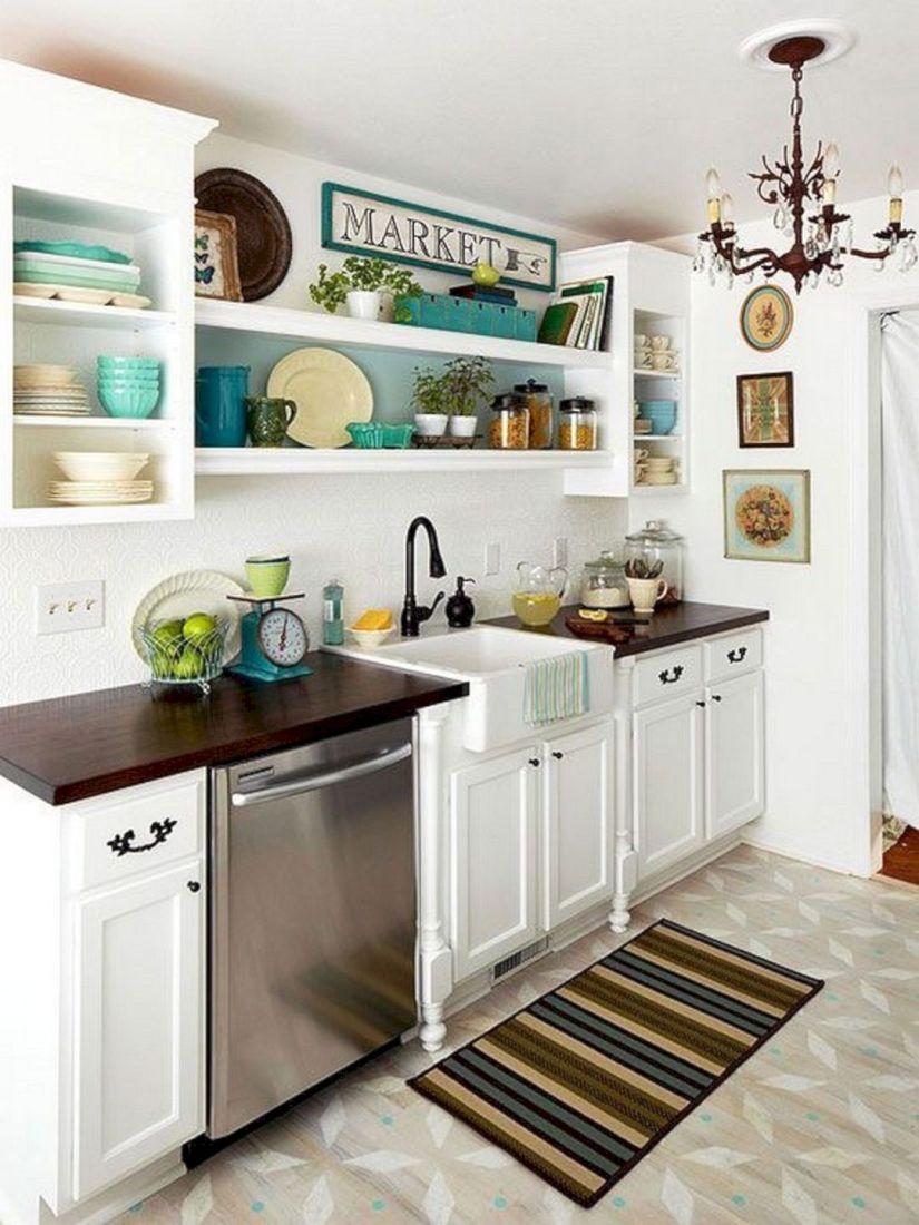 33 Attractive Small Kitchen Design Ideas In 2020 [Budget ...
