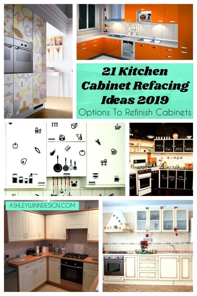 Wondrous 21 Kitchen Cabinet Refacing Ideas 2019 Options To Refinish Download Free Architecture Designs Grimeyleaguecom