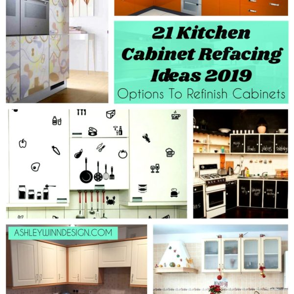 21 Kitchen Cabinet Refacing Ideas (Options To Refinish Cabinets)