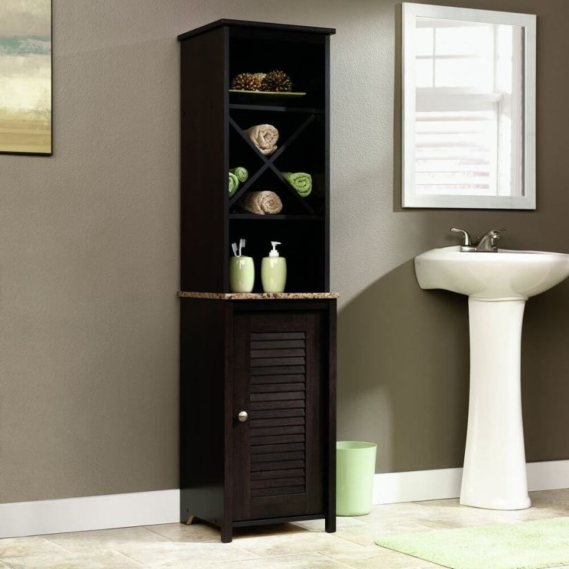 ideas for bathroom with no medicine cabinet