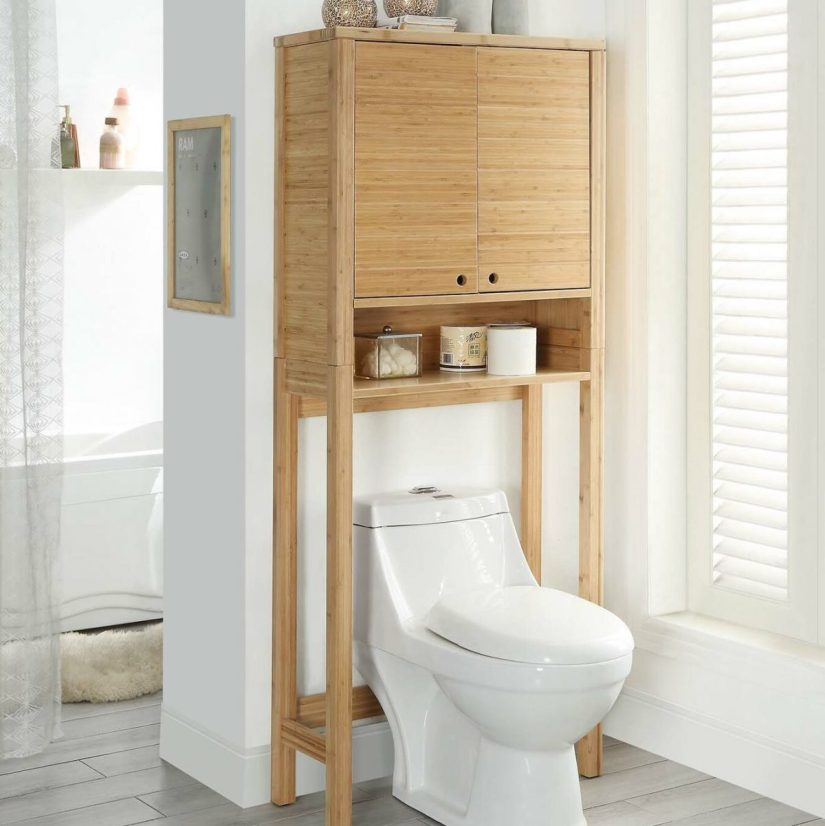 over toilet storage cabinet