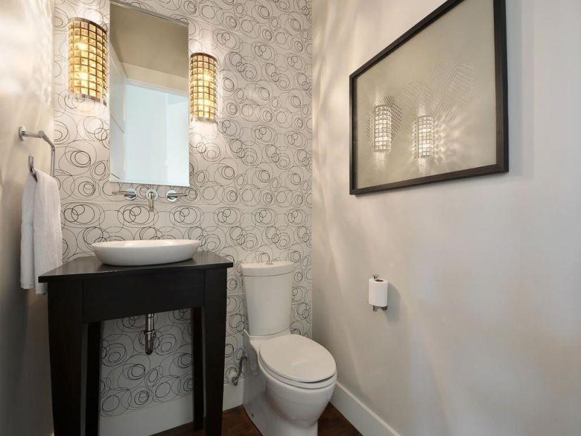 fascinating half bath decorating ideas bathroom | 41 Cool Half Bathroom Ideas And Designs You Should See In 2019