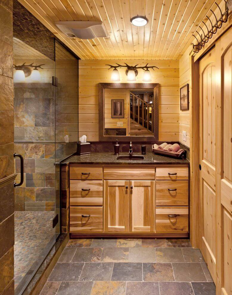 single vanity bathroom ideas
