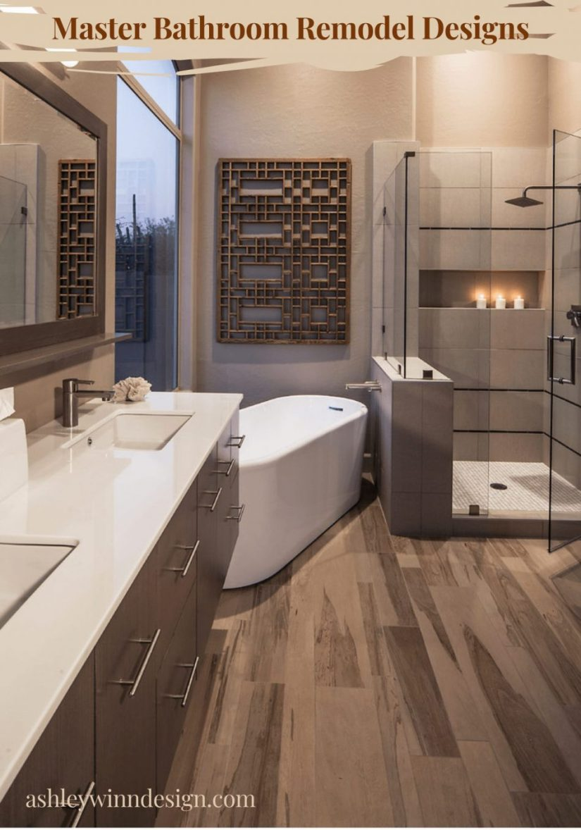 Wooden Accent bathroom