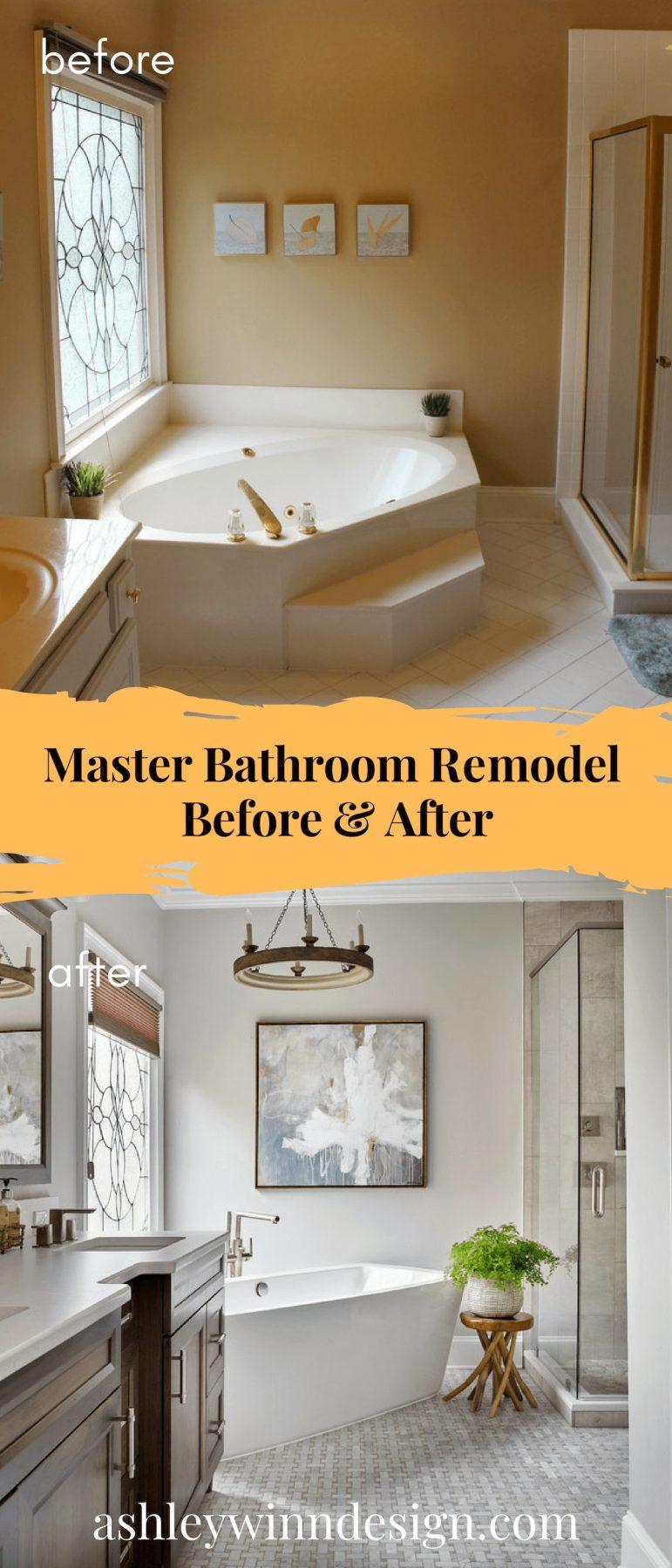 30 Impressive Master Bathroom Remodel Ideas Before After Images
