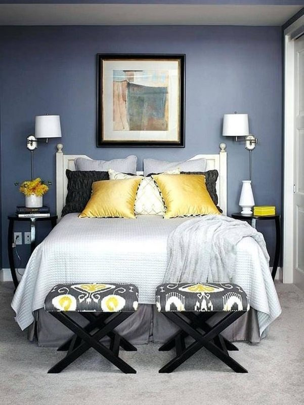 25 Gorgeous Small Master Bedroom Ideas 2019 (Decor Inspirations)