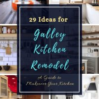 29 Awesome Galley Kitchen Remodel Ideas [A Guide to Makeover Your Kitchen]