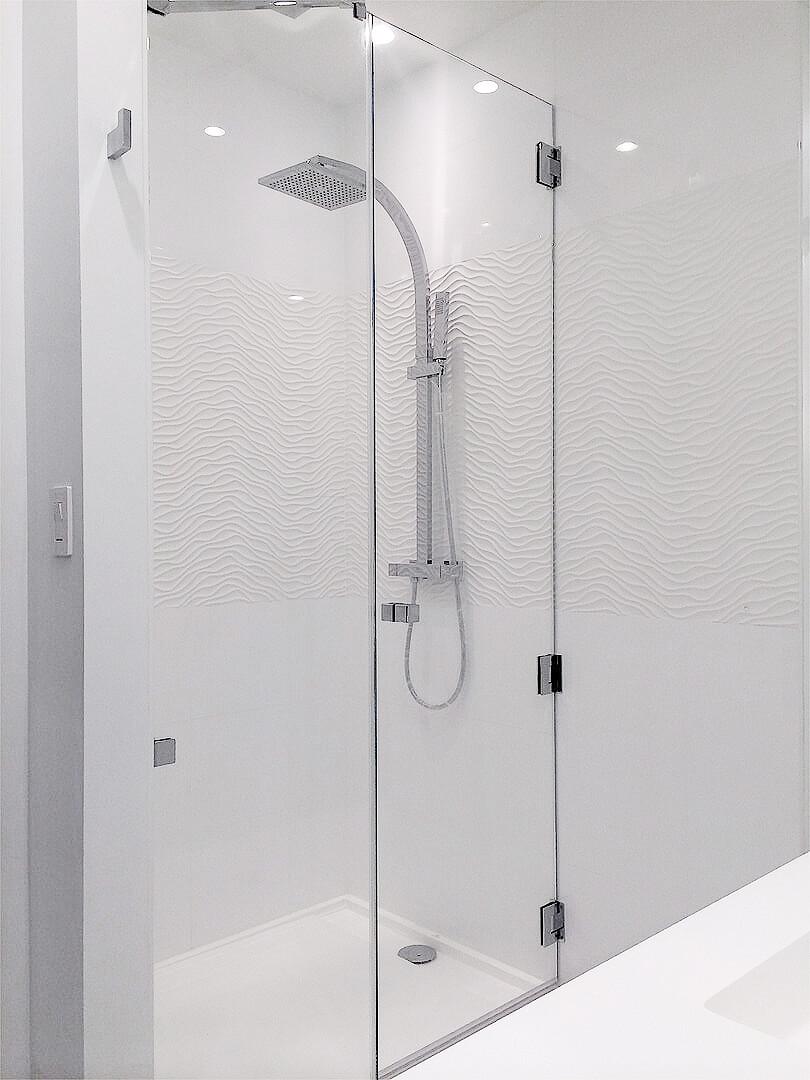 shower for bathroom remodel