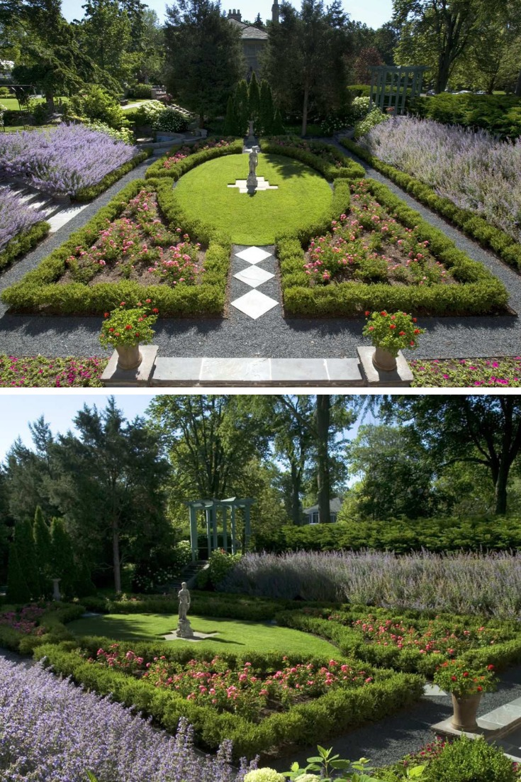 knockout rose garden ideas