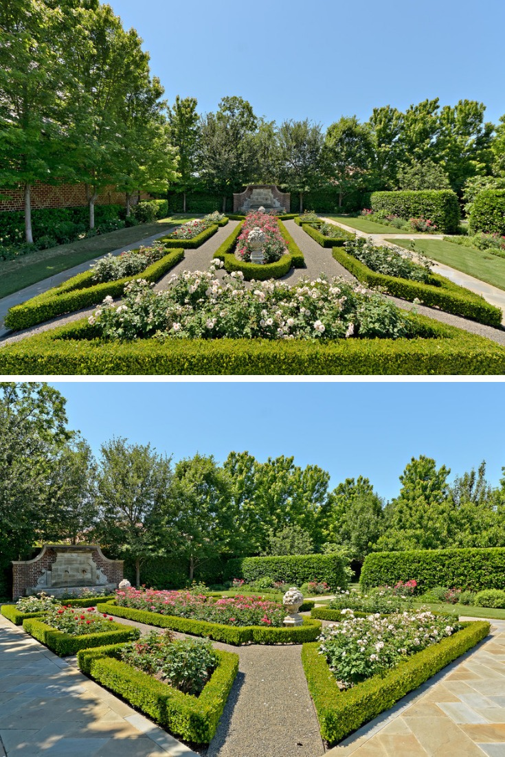 rose garden landscaping ideas