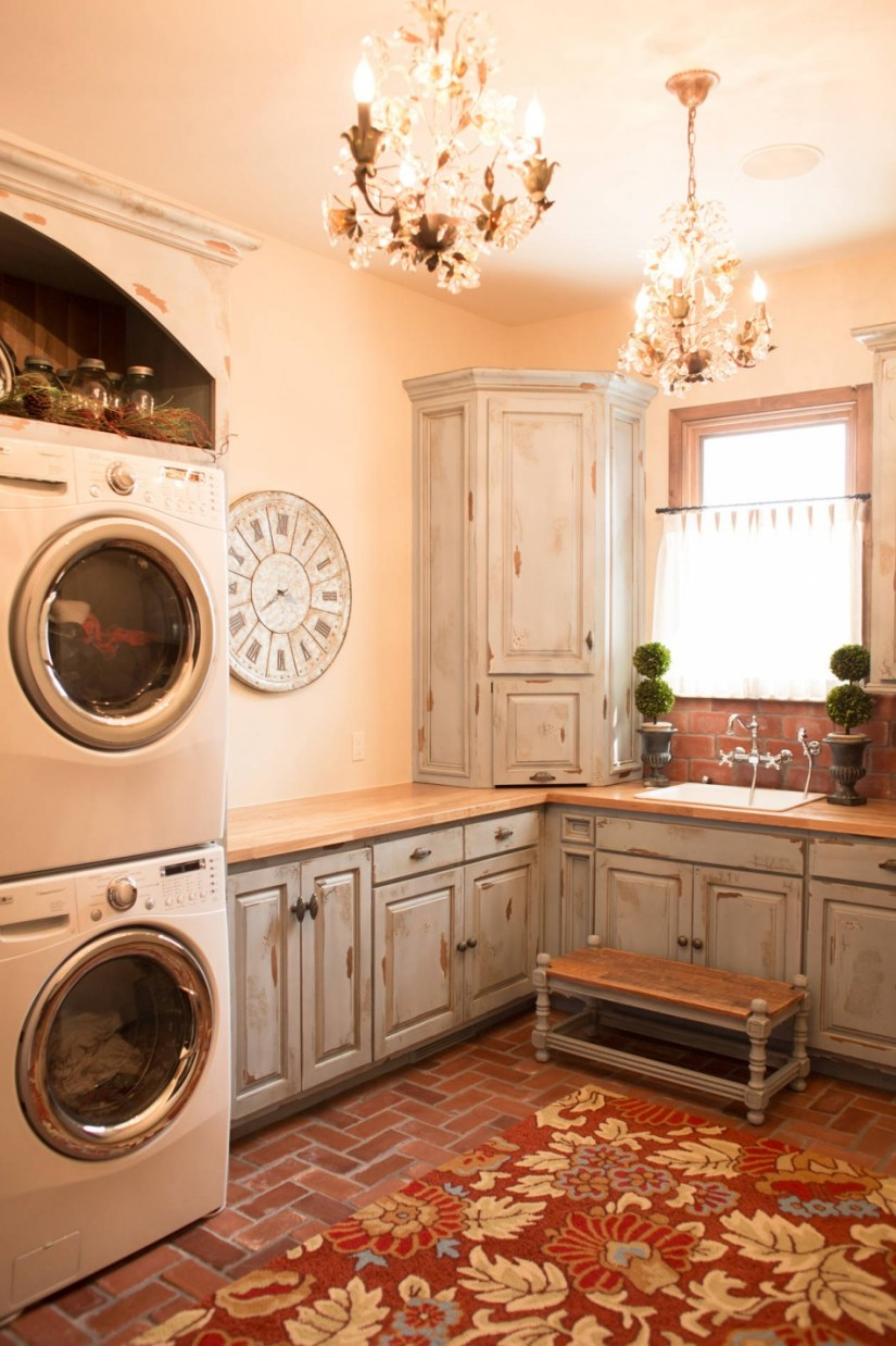 basement laundry ideas