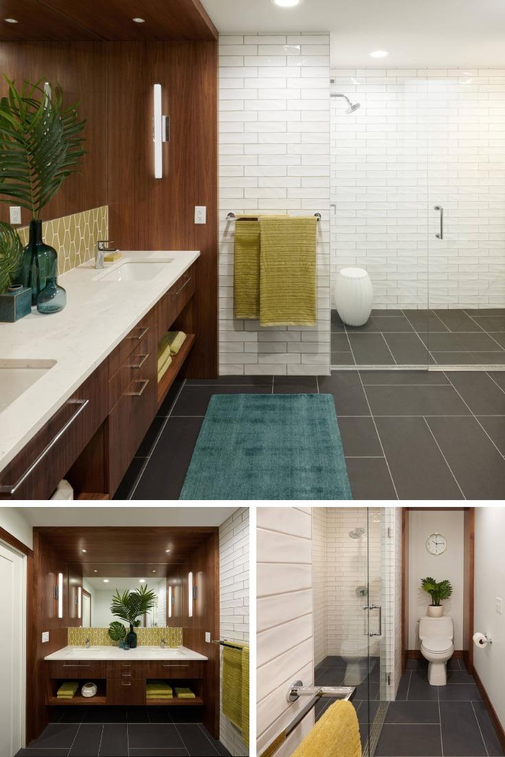 Mid-century Bathroom Remodel Design