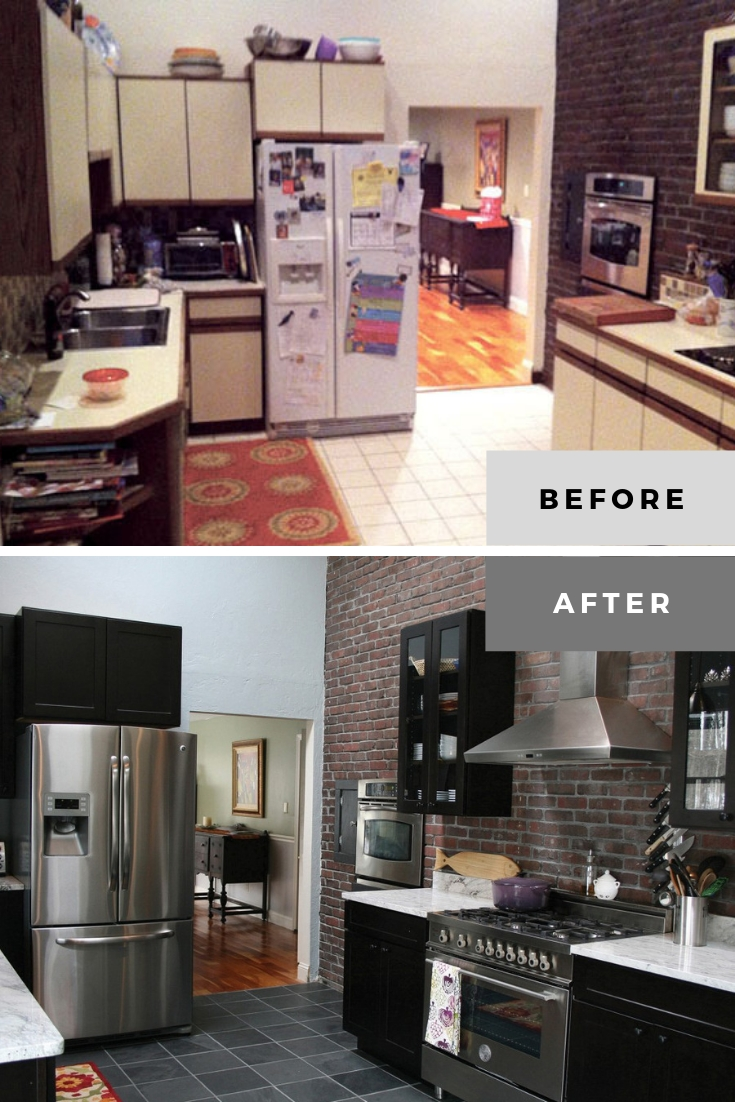 condo kitchen remodel before and after