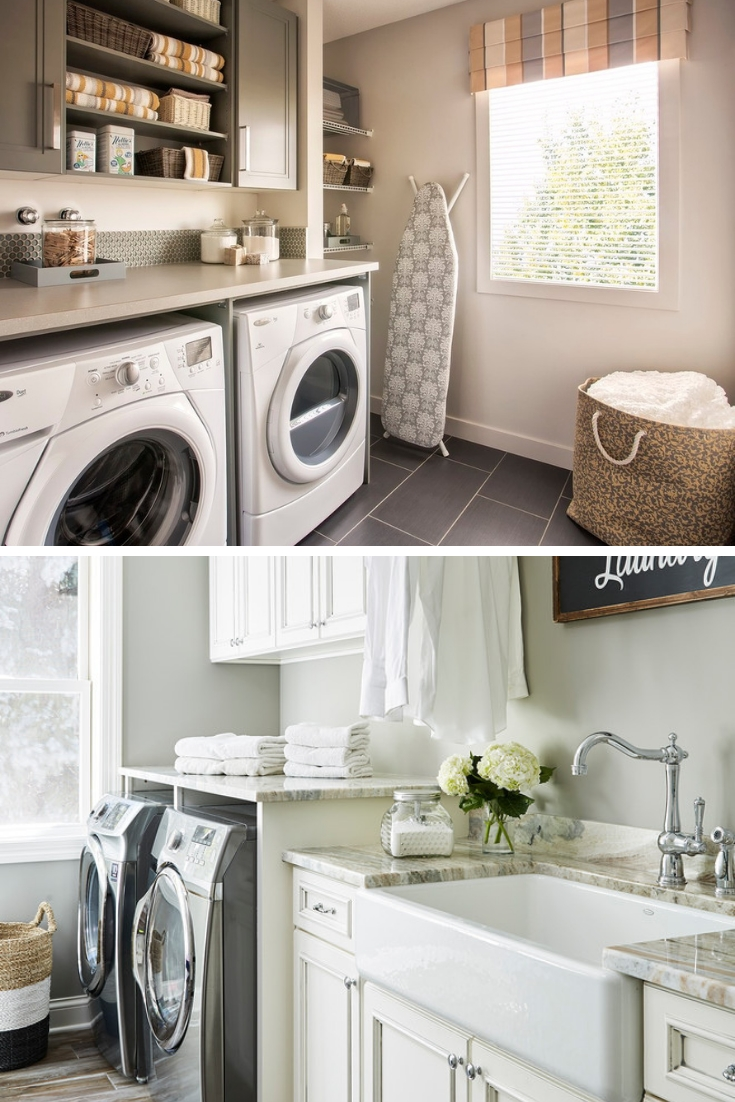 remodel a laundry room