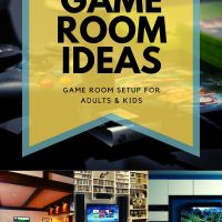 Game Room Ideas [Game Room Setup For Adults & Kids]