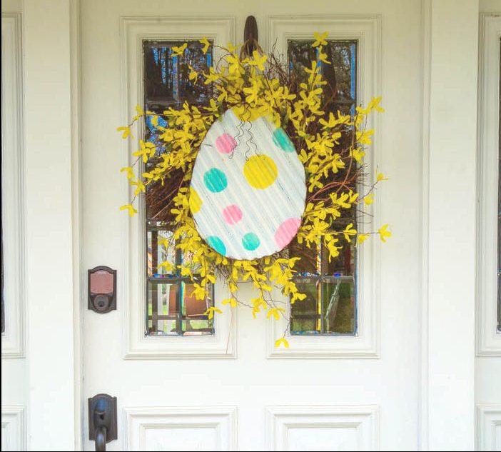 spring door decorations