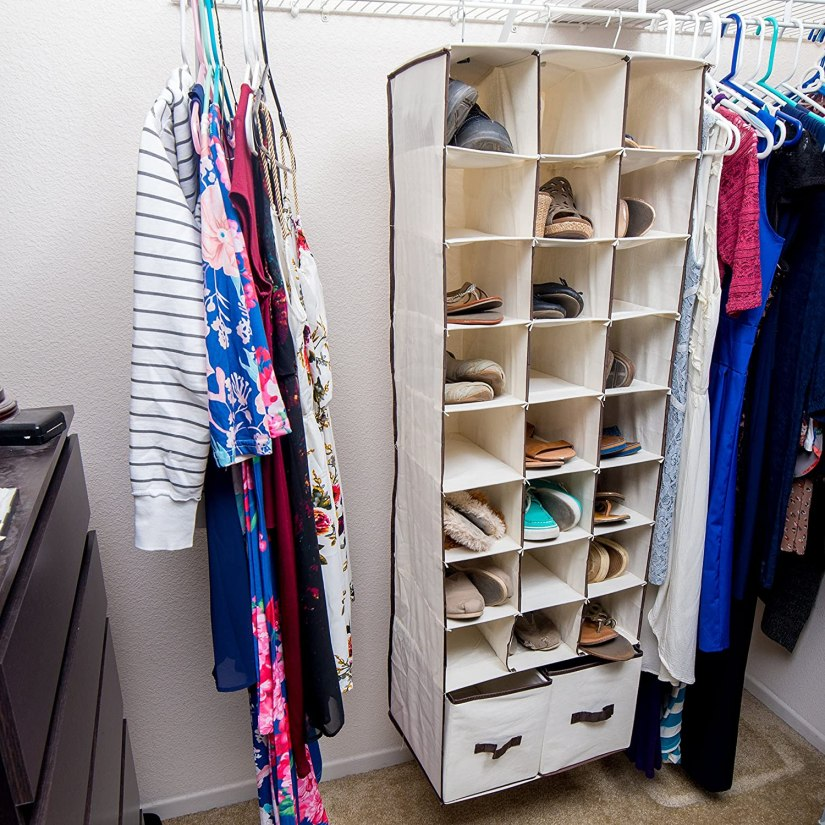 shoe rack ideas for boys dorm room