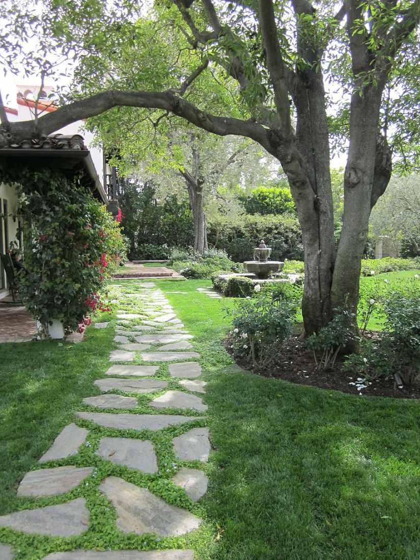 path landscape design