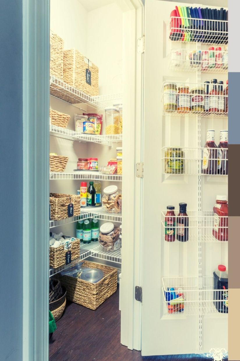 awesome spice rack idea for pantry