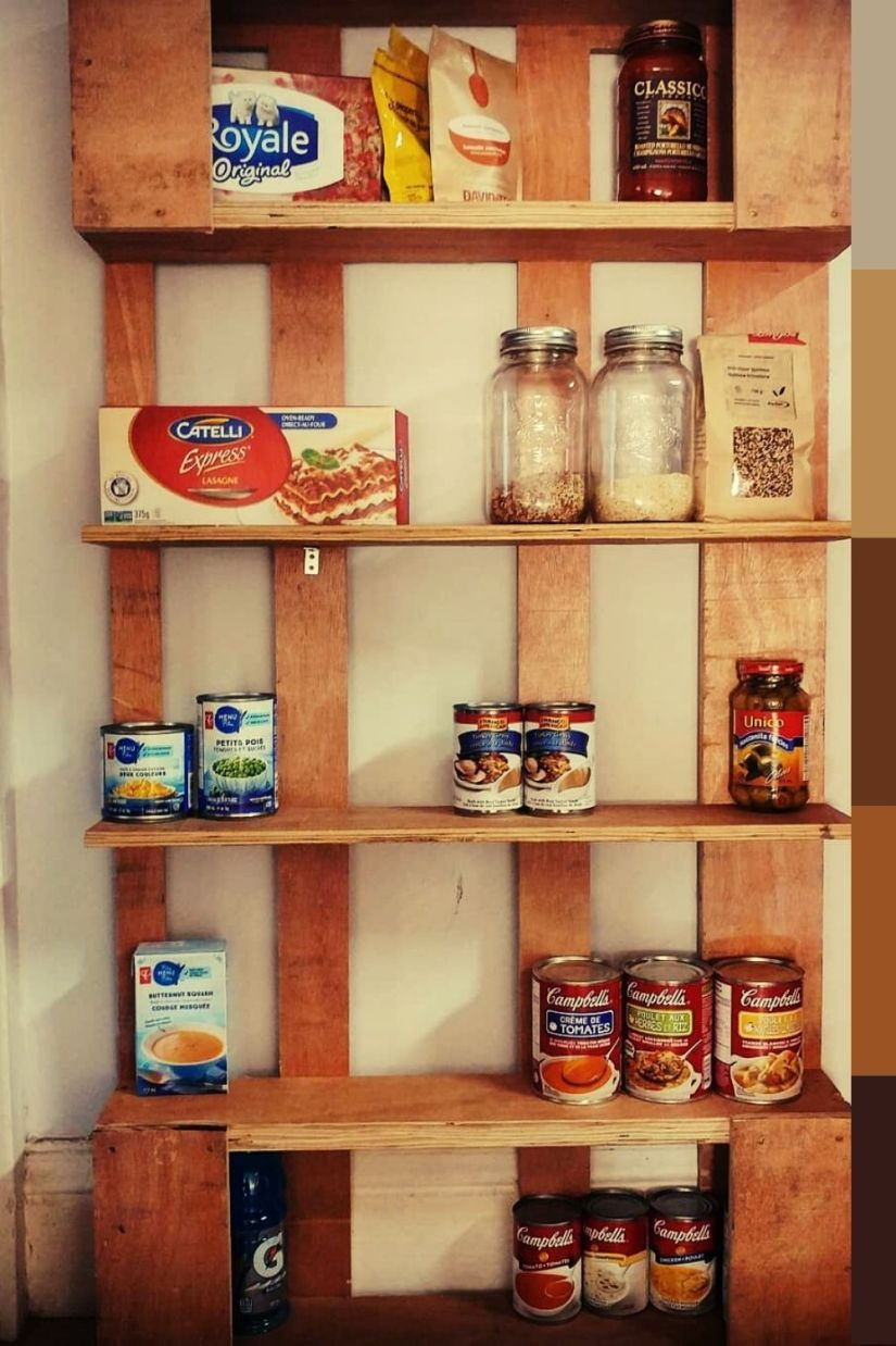 diy pallet spice rack ideas