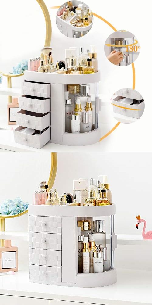 modern cosmetic storage