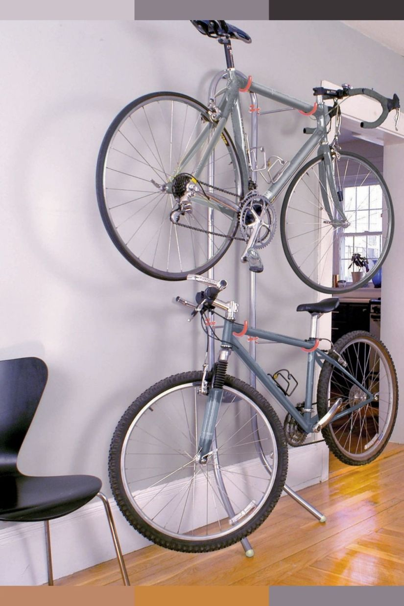 bike storage in apartment ideas