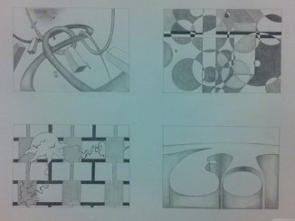 Project in pencil for class
