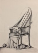 Charcoal drawing for class