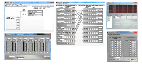 Protēa™ DSP software suite for Windows® – ashly