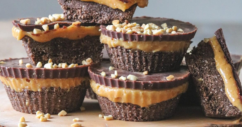 Photo: Choc Cookie Peanut Butter Fudge Cups