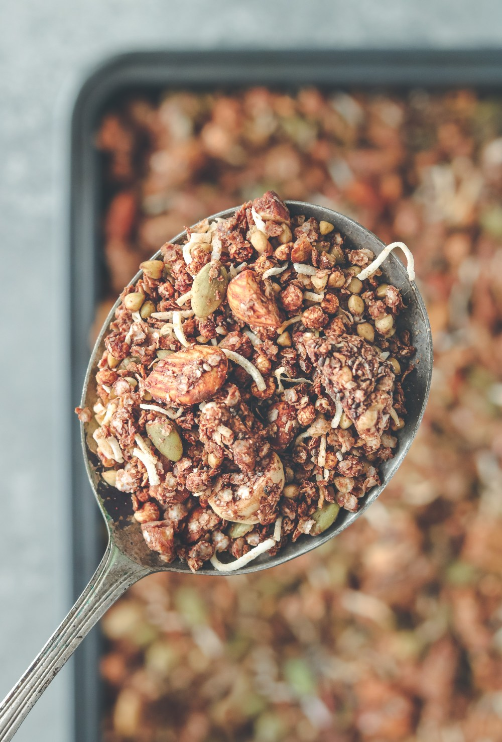 Photo: Choccy granola