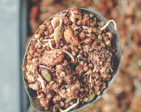 Photo: Choccy granola