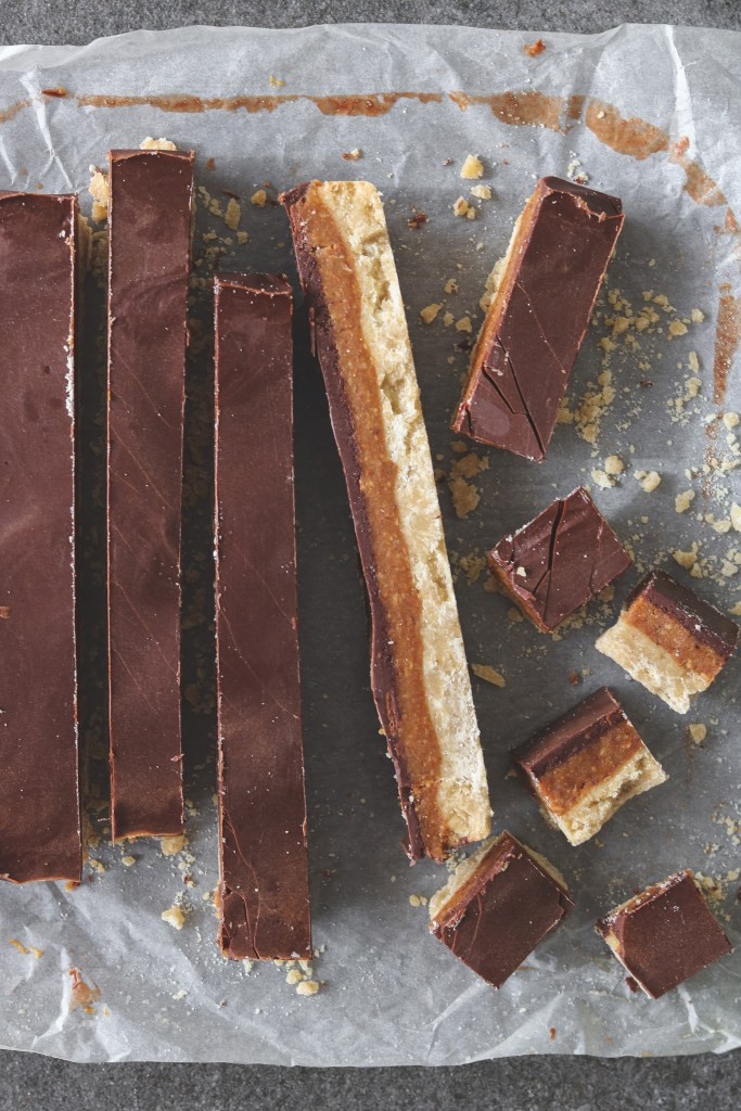 Photo: Twix Cookie Bar Slice