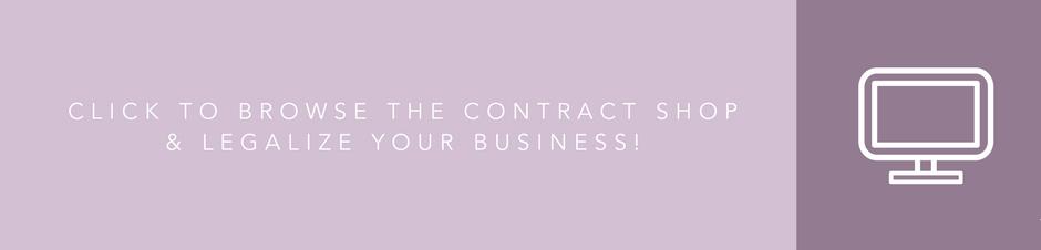 Shop contract templates for creative entrepreneurs in The Contract Shop